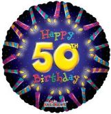 50th Birthday Candles