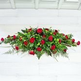 Luxury Rose Casket Arrangement