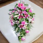 Scented Casket Arrangement