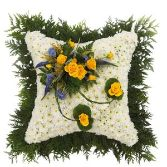 Massed Posy Cushion